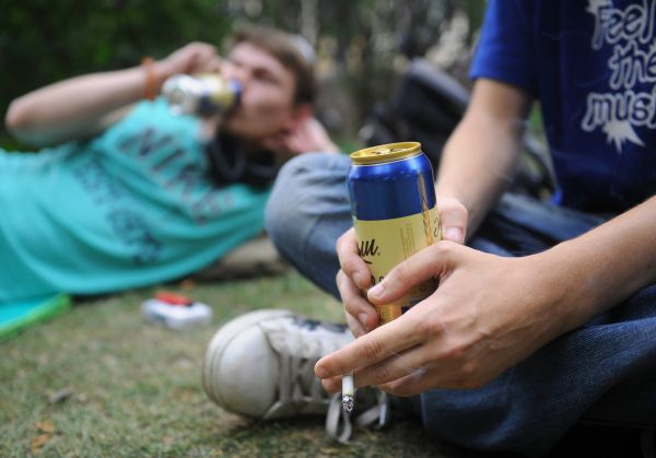 Штраф за распитие спиртных напитков в общественных местах
