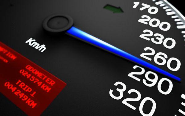 Таблица размеров штрафов за превышение скорости