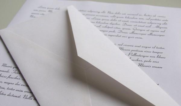 Как написать официальное письмо в организацию