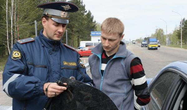 Наказание и штраф за тонировку