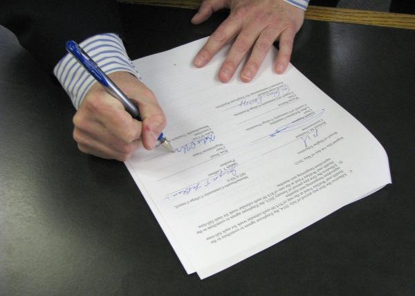 Подача заявления на наследство