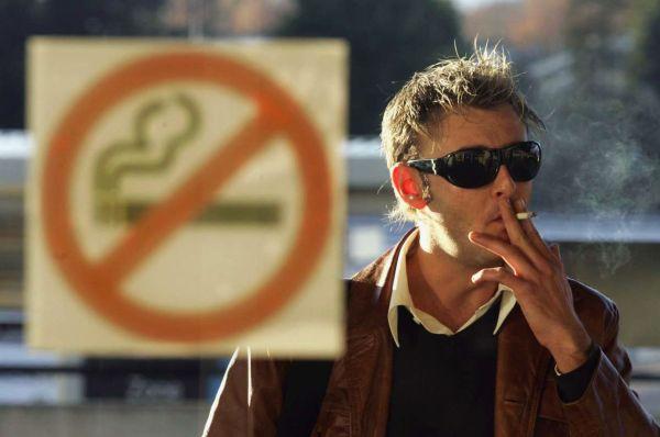 Размеры штрафа за курение