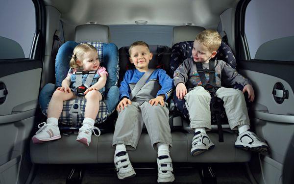 Штраф за езду без детского кресла