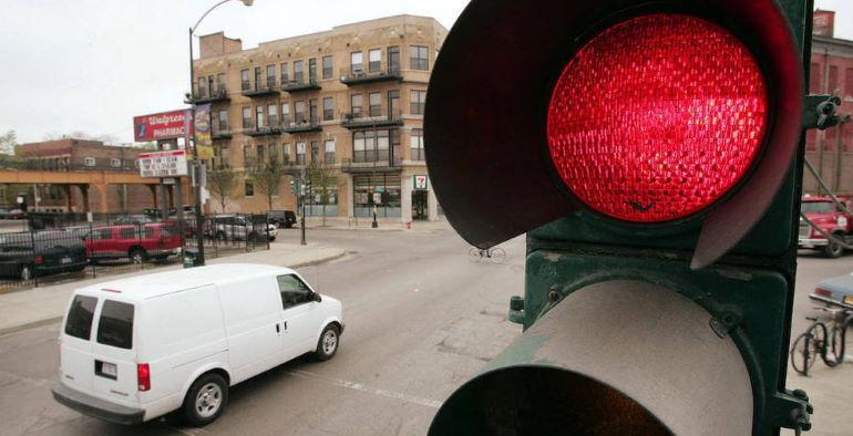 Штраф за проезд на красный свет в 2020 году
